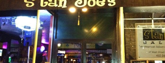 Stan & Joe's Saloon West is one of Our Pet Lovin' Yappy Hour Partners.
