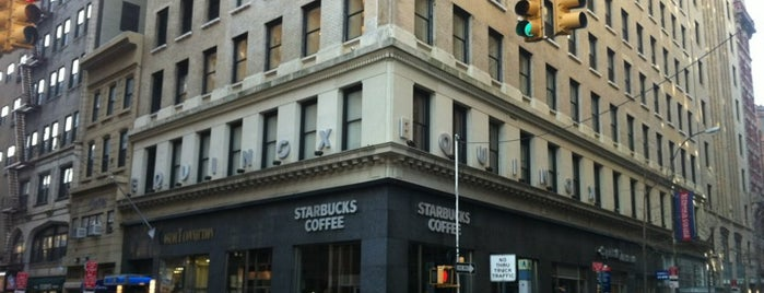 Starbucks is one of 2012 NYC.