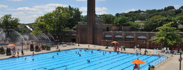 Lyons Pool is one of NYC Parks' Free Outdoor Swimming Pools.