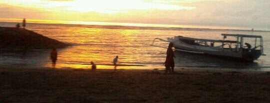 Sanur Beach is one of Bali for The World #4sqCities.