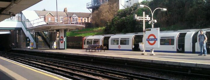 South Ealing London Underground Station is one of Tube Challenge.