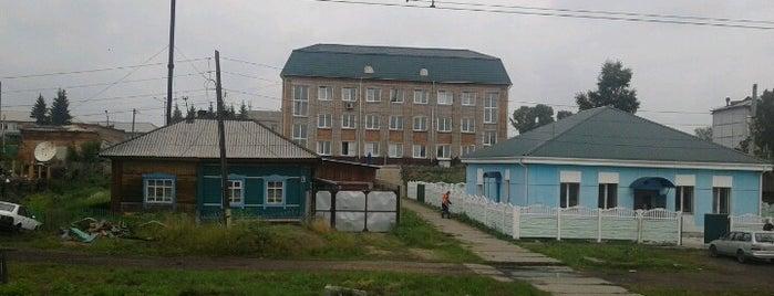 Ж/д станция Козулька is one of Транссибирская магистраль.