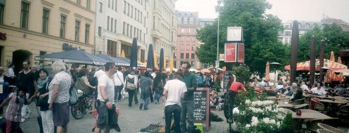 Wochenmarkt Hackescher Markt is one of Markets - Fruits & Food.