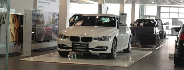BMW БауэрХоф is one of Где найти БЖ в Екатеринбурге.