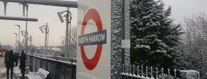 North Harrow London Underground Station is one of Tube Challenge.