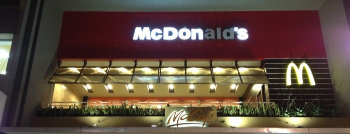 McDonald's is one of SAN JOSE CR.