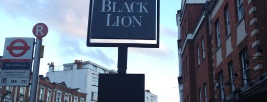 The Black Lion is one of Pubs Close to Hillspring Lodge.