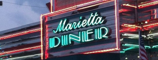 Marietta Diner is one of Summer in Georgia.
