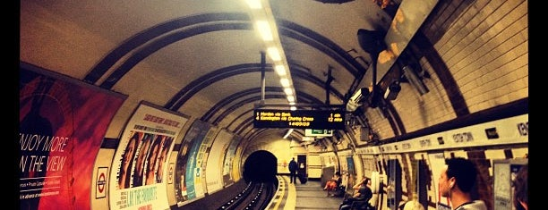 Kentish Town London Underground Station is one of Tube Challenge.