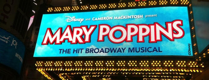 Disney's MARY POPPINS at the New Amsterdam Theatre is one of Pete NYC.