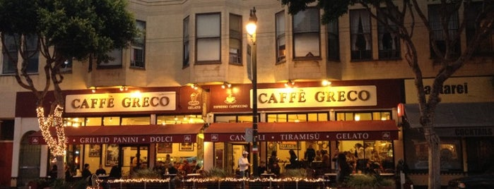 Caffé Greco is one of Free Wifi & Power in San Francisco.