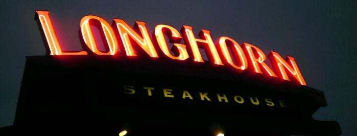 LongHorn Steakhouse is one of New Experiences.