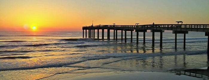 St. Augustine Pier is one of Must-visit Great Outdoors in St Augustine.