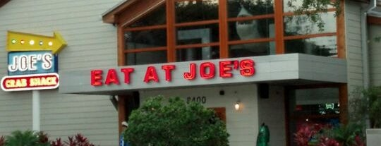 Joe's Crab Shack is one of My Favorite Places To Eat.