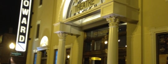 The Howard Theatre is one of DC at Night.