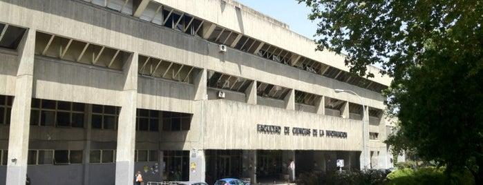 Facultad de Ciencias de la Información (UCM) is one of Consultoría/Formación.