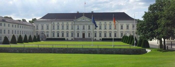 Schloss Bellevue is one of Berlin.