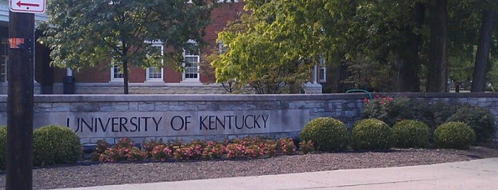 University of Kentucky is one of Colleges I've Visited.