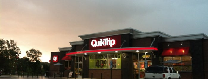 QuikTrip is one of Places I've been near me.