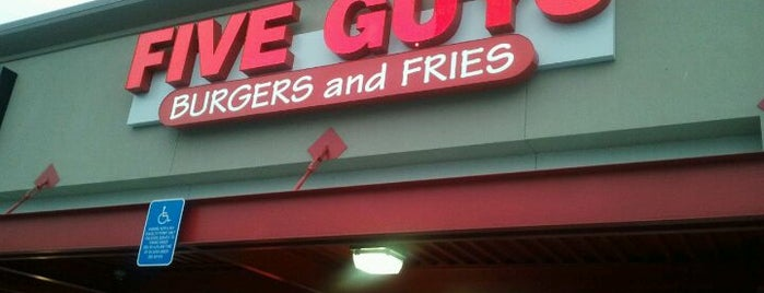 Five Guys is one of Burgers.