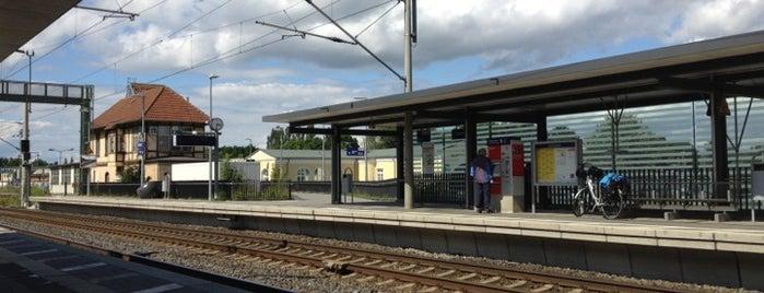Bahnhof Erkner is one of Besuchte Berliner Bahnhöfe.