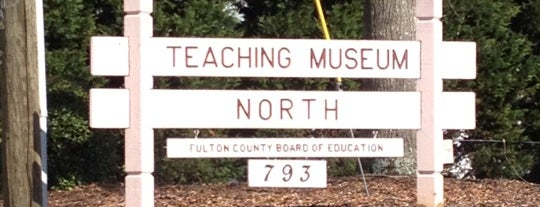 Teaching Museum North is one of Visit Roswell, GA.