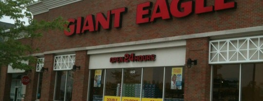 Giant Eagle Supermarket is one of Shopping.