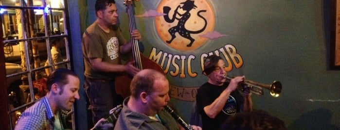 The Spotted Cat Music Club is one of Nola.