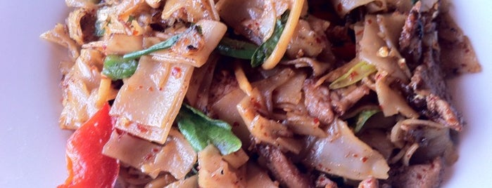 Thai Satay bbq is one of Pad Kee Mao in the IE - Who Does It Best.