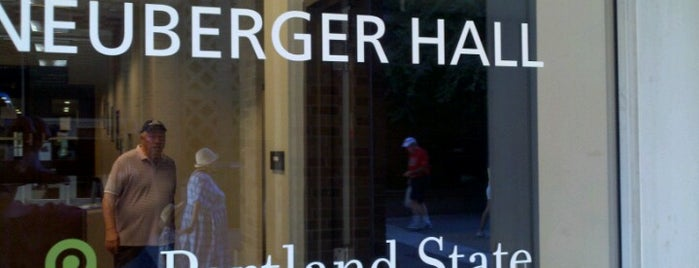 Neuberger Hall (PSU) is one of PSSSUUUU.