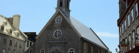 Église de Notre-Dame-des-Victoires is one of Quebec to-do/eat.