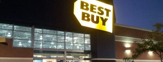 Best Buy is one of Visited Here.