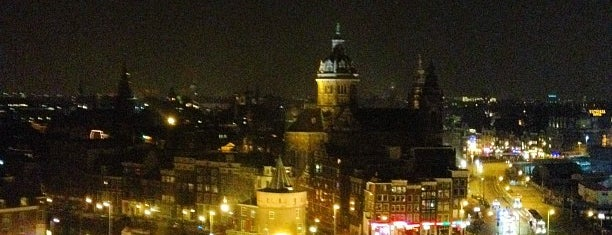 SkyLounge Amsterdam is one of Amsterdam: student edition.