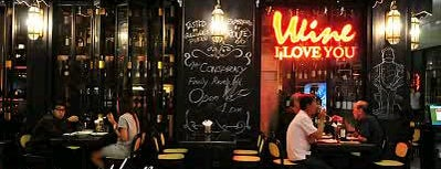 """Wine I Love You is one of """" Nightlife Spots BKK.""""."""