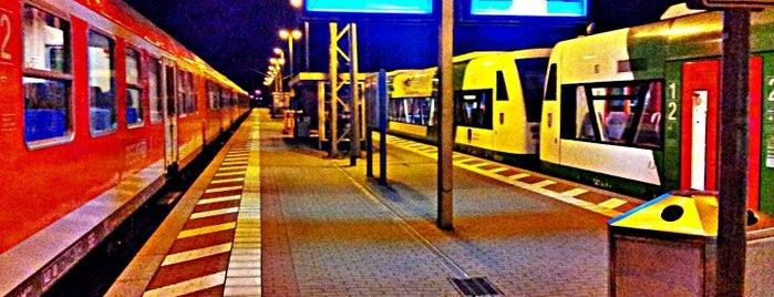 Bahnhof Neudietendorf is one of Bahnhöfe DB.