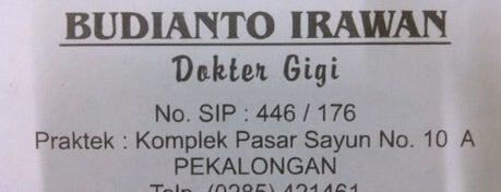 Drg. B. Irawan & Drg. Margo Noor Indah is one of Pekalongan World of Batik.