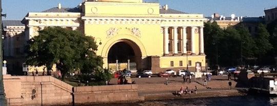 Адмиралтейство is one of СПб..