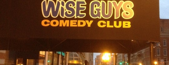 Wise Guys Comedy Club & Bistro is one of A Tour Guide to Syracuse.