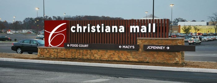 Christiana Mall is one of Home.