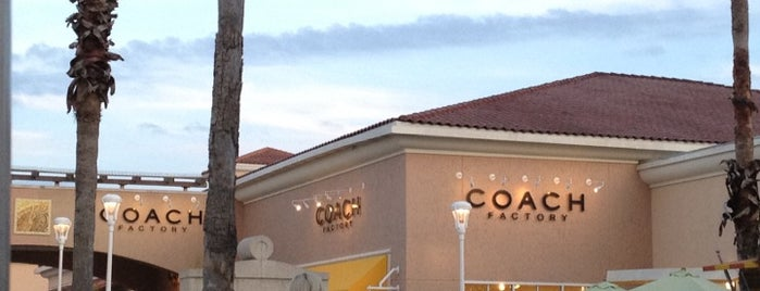 Coach Factory is one of Orlando - Compras (Shopping).