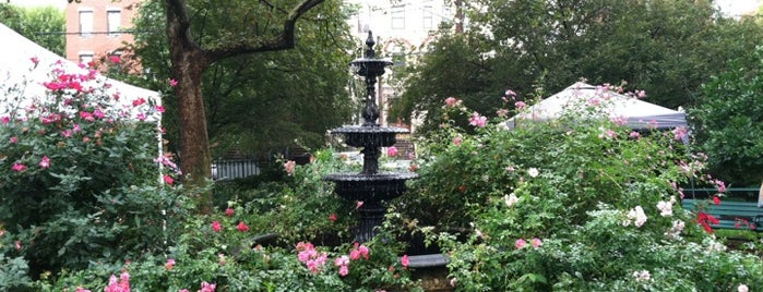 Van Vorst Park is one of Jersey City: Life & Times in the Sixth Borough.