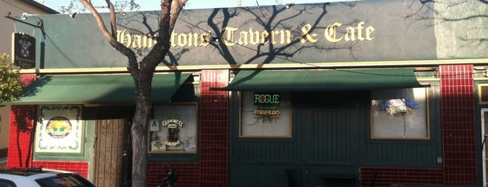 Hamilton's Tavern is one of San Diego Bars.