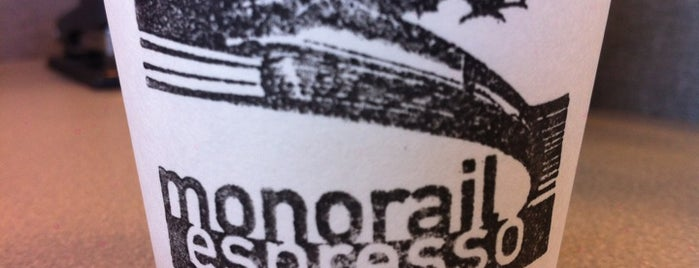 Monorail Espresso is one of Legitimate Espresso & Coffee.