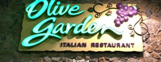 Olive Garden is one of 20 favorite restaurants.