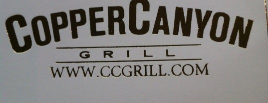 Copper Canyon Grill is one of Favorite Food.