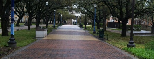 Military Walk is one of Texas A&M History.