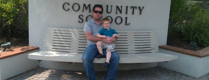 The Community School is one of 5B.