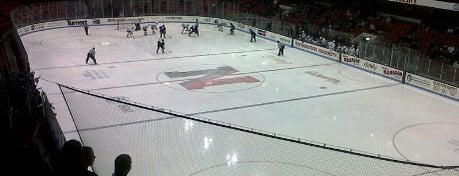 Matthews Arena is one of 2012-13 Merrimack College Hockey Road Trips.