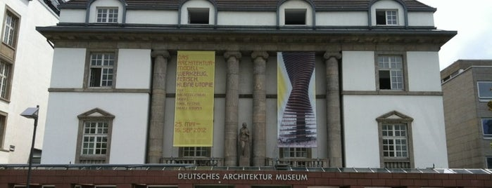 Deutsches Architekturmuseum (DAM) is one of Luups Frankfurt 2015.
