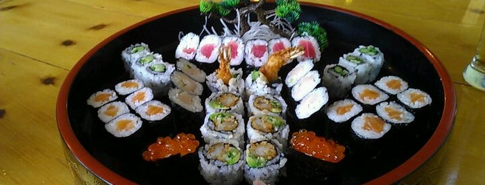 Jako Sushi is one of good food. in the 'burg.